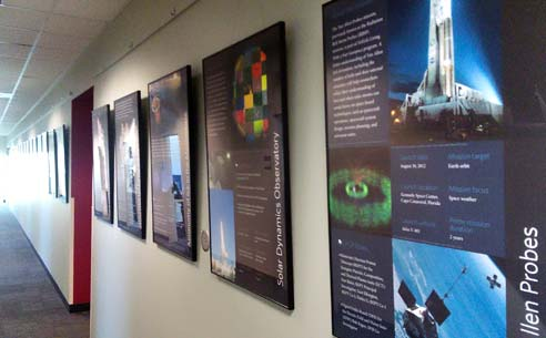 Space mission posters